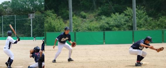 練習試合 (6月9日)